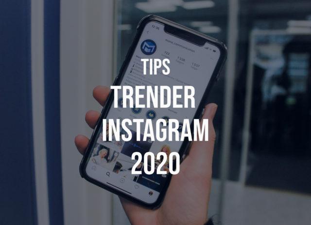 Instagram – Markedsføringstrender 2020